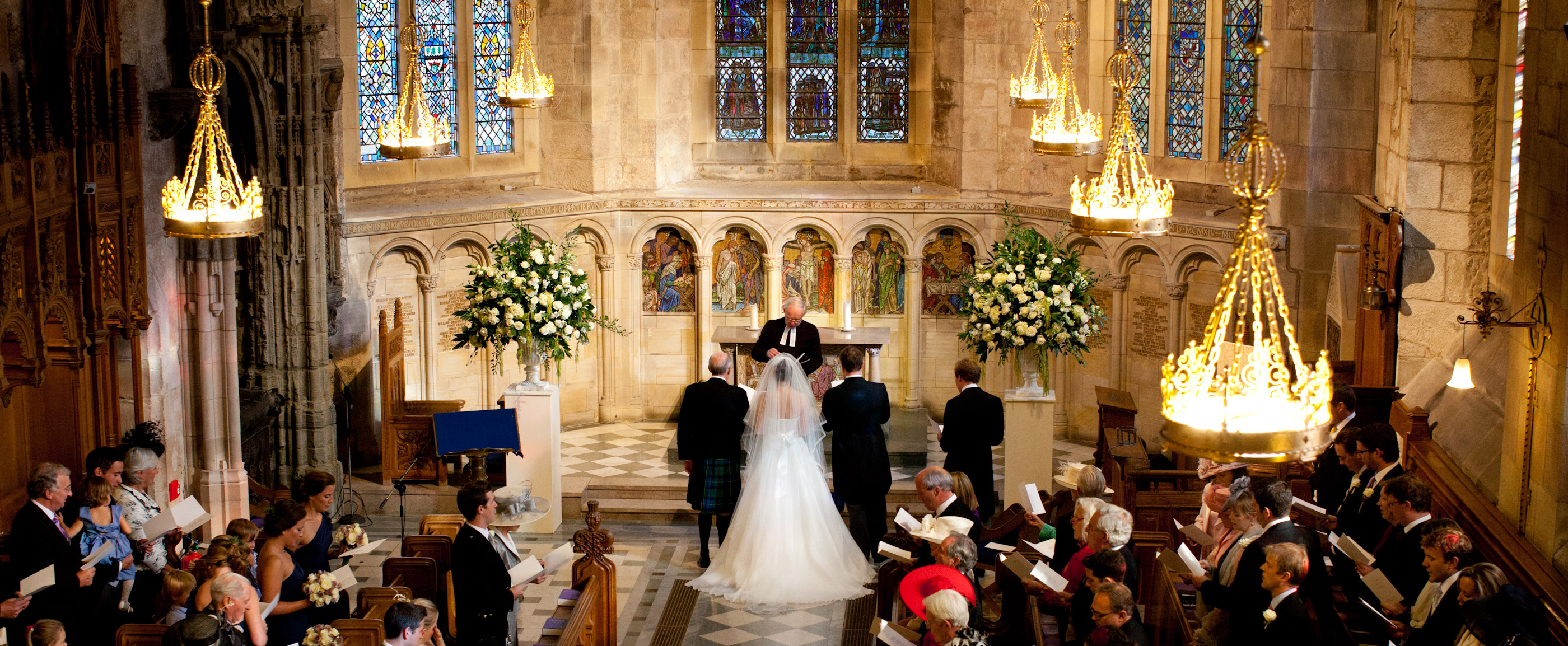 Litu legal requirements for scottish weddings and getting married here photo of a wedding ceremony taking place in a scottish cathedral solutioingenieria Choice Image
